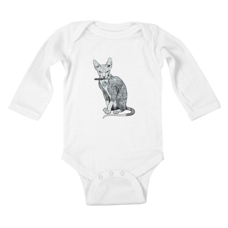 Gangster Kids Baby Longsleeve Bodysuit by ES427's Artist Shop