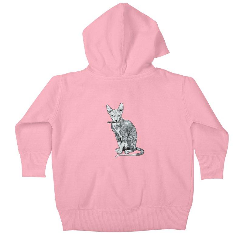 Gangster Kids Baby Zip-Up Hoody by ES427's Artist Shop