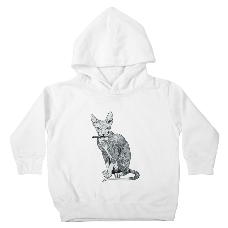 Gangster Kids Toddler Pullover Hoody by ES427's Artist Shop