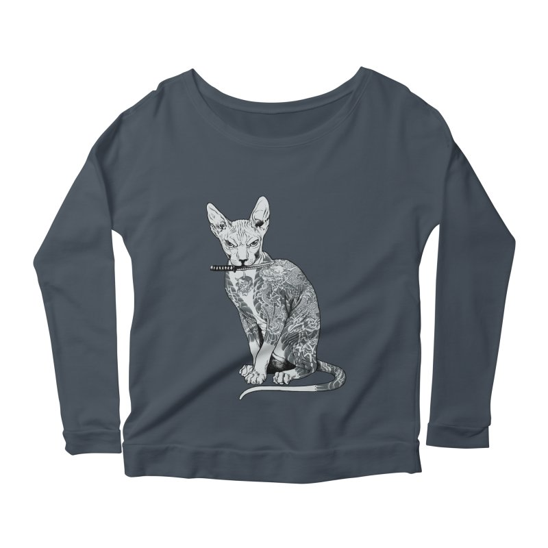 Gangster Women's Scoop Neck Longsleeve T-Shirt by ES427's Artist Shop