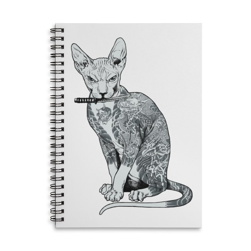 Gangster Accessories Lined Spiral Notebook by ES427's Artist Shop