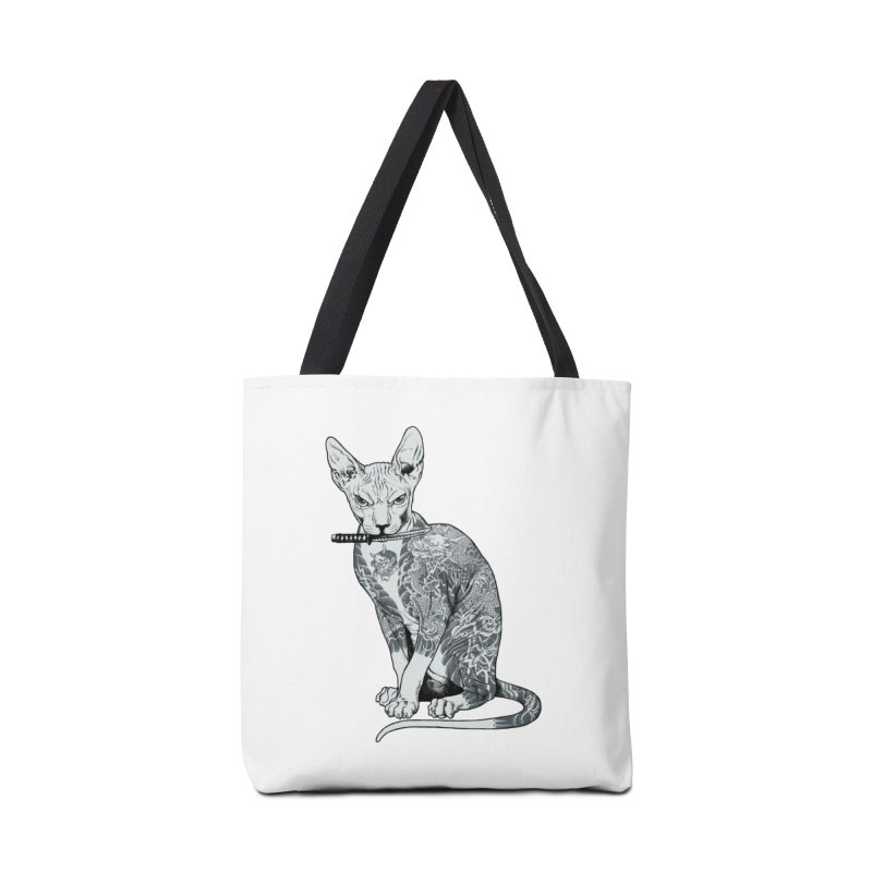Gangster Accessories Tote Bag Bag by ES427's Artist Shop