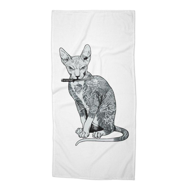 Gangster Accessories Beach Towel by ES427's Artist Shop