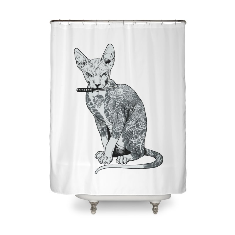 Gangster Home Shower Curtain by ES427's Artist Shop