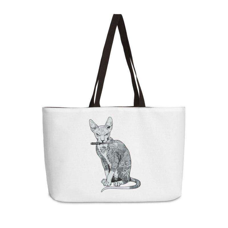 Gangster Accessories Weekender Bag Bag by ES427's Artist Shop