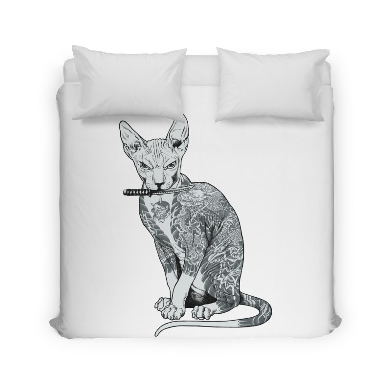 Gangster Home Duvet by ES427's Artist Shop
