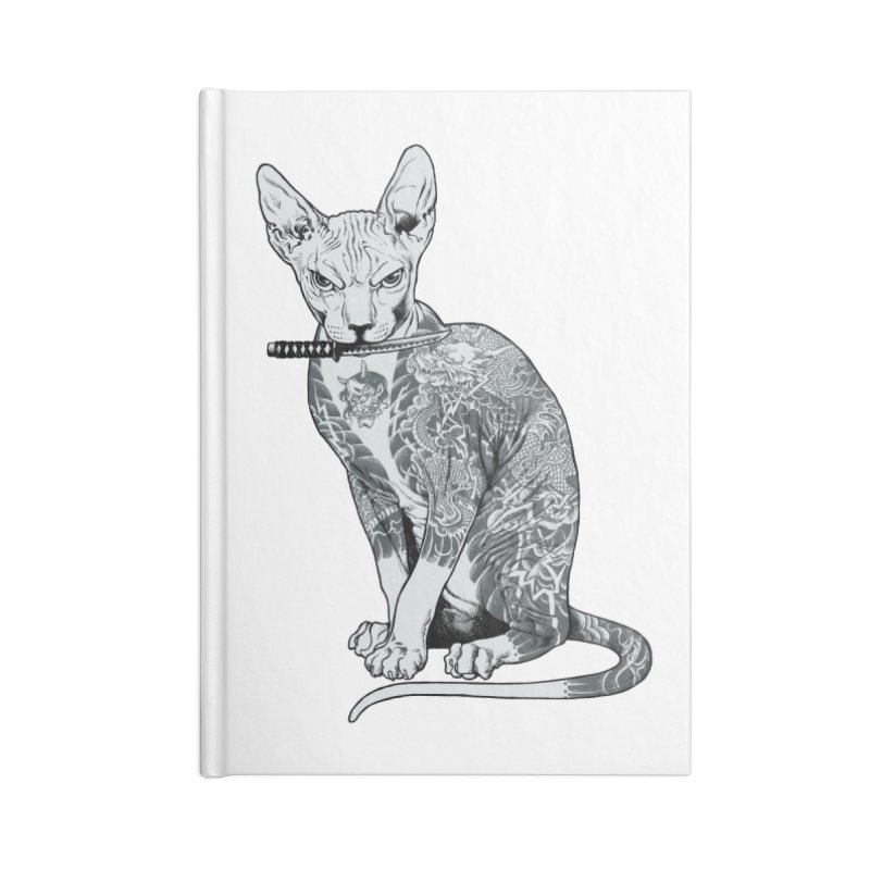 Gangster Accessories Lined Journal Notebook by ES427's Artist Shop