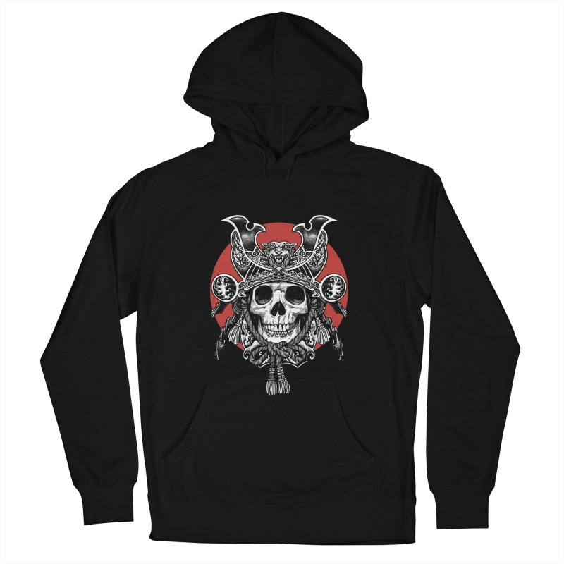 WARRIOR Men's French Terry Pullover Hoody by ES427's Artist Shop