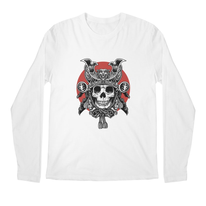 WARRIOR Men's Longsleeve T-Shirt by ES427's Artist Shop