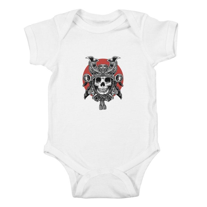 WARRIOR Kids Baby Bodysuit by ES427's Artist Shop