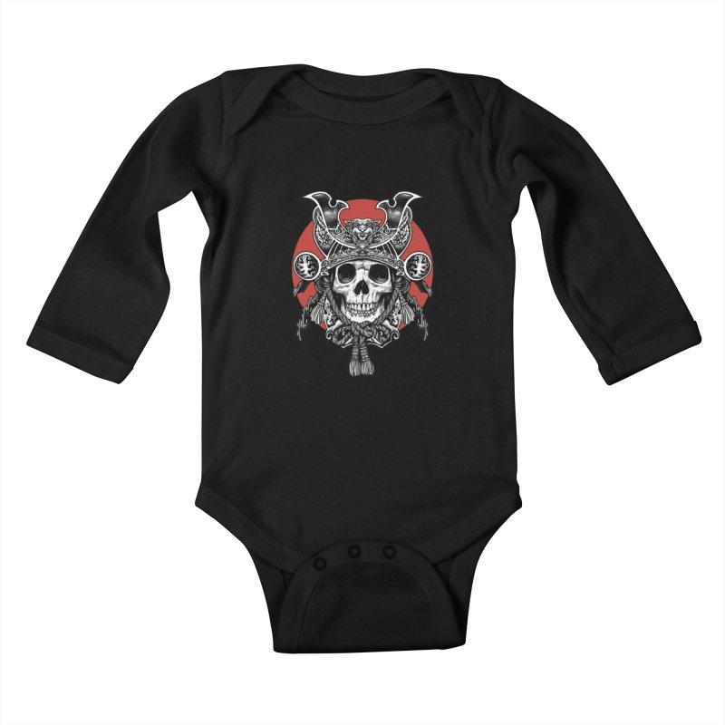WARRIOR Kids Baby Longsleeve Bodysuit by ES427's Artist Shop