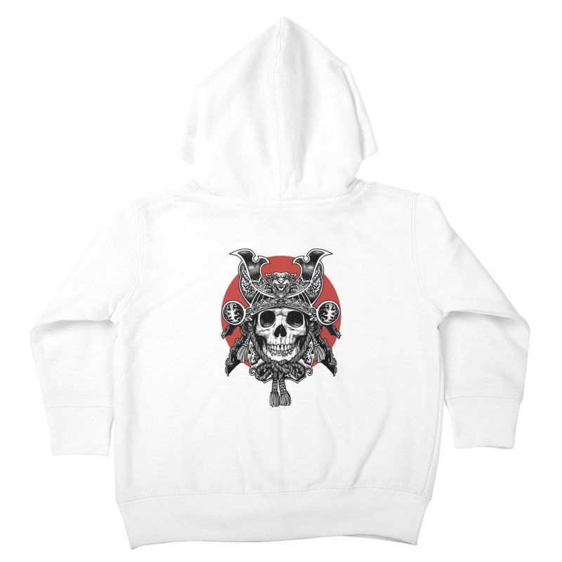 WARRIOR Kids Toddler Zip-Up Hoody by ES427's Artist Shop