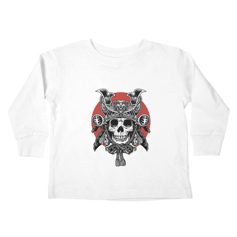 WARRIOR Kids Toddler Longsleeve T-Shirt by ES427's Artist Shop