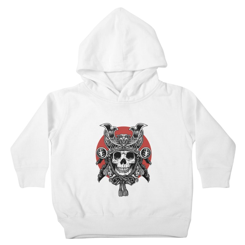 WARRIOR Kids Toddler Pullover Hoody by ES427's Artist Shop