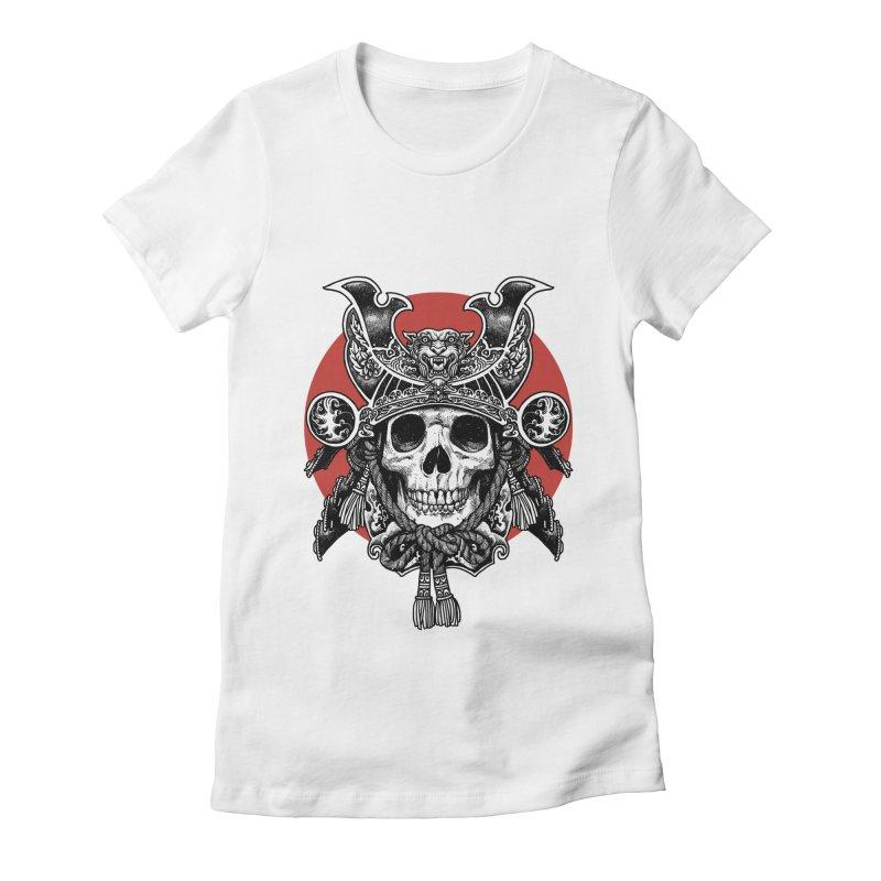 WARRIOR Women's Fitted T-Shirt by ES427's Artist Shop
