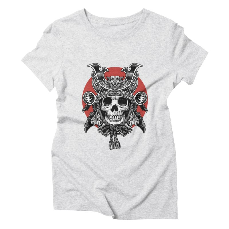 WARRIOR Women's Triblend T-Shirt by ES427's Artist Shop