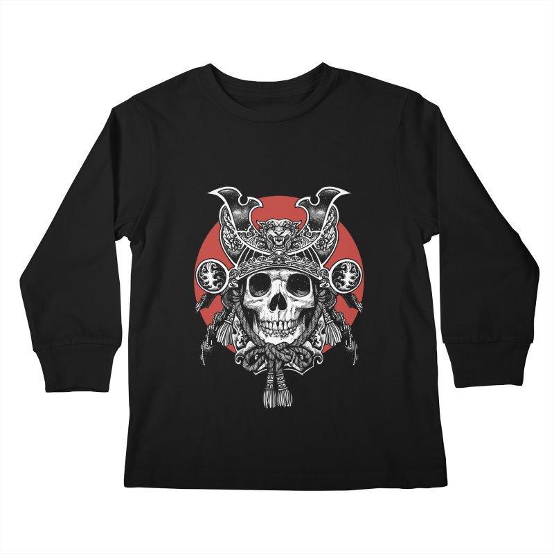 WARRIOR Kids Longsleeve T-Shirt by ES427's Artist Shop