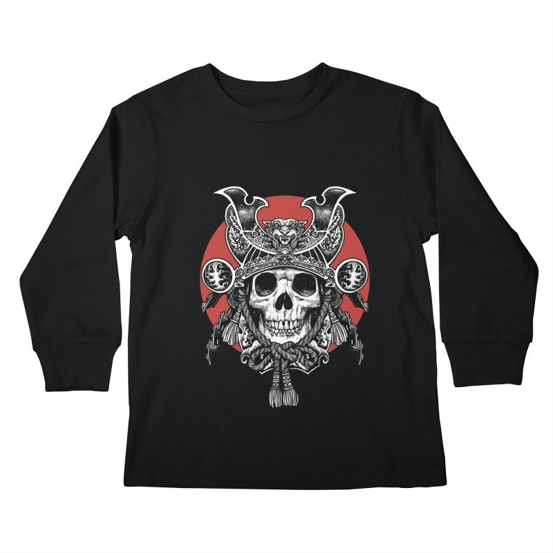 WARRIOR Kids Longsleeve T-Shirt by ES427's Artist Shop