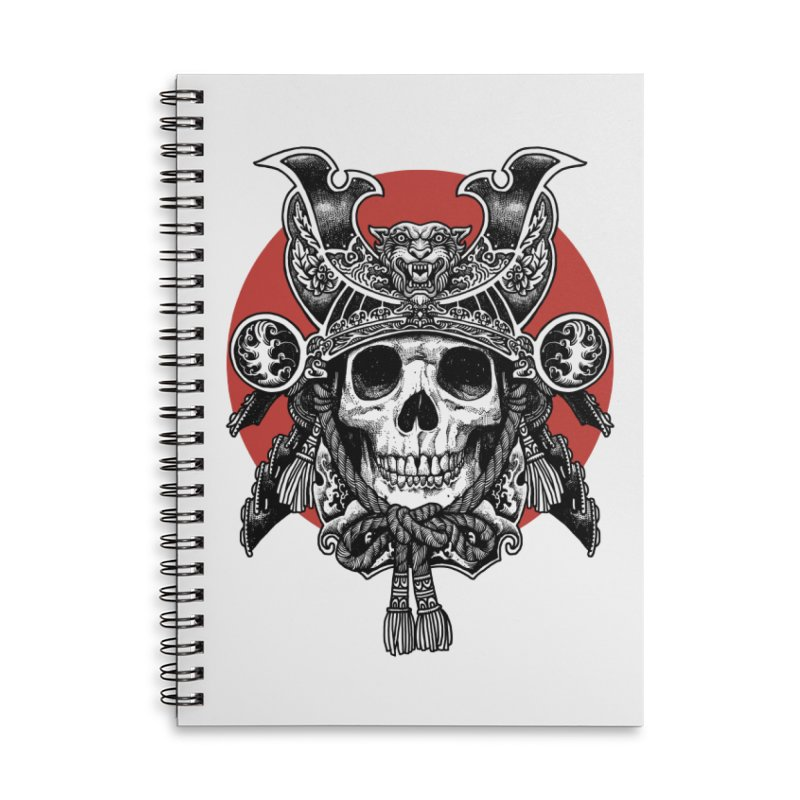 WARRIOR Accessories Lined Spiral Notebook by ES427's Artist Shop