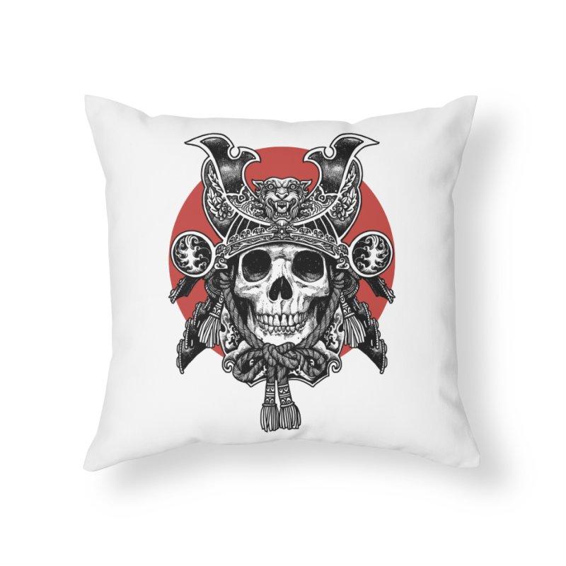 WARRIOR Home Throw Pillow by ES427's Artist Shop