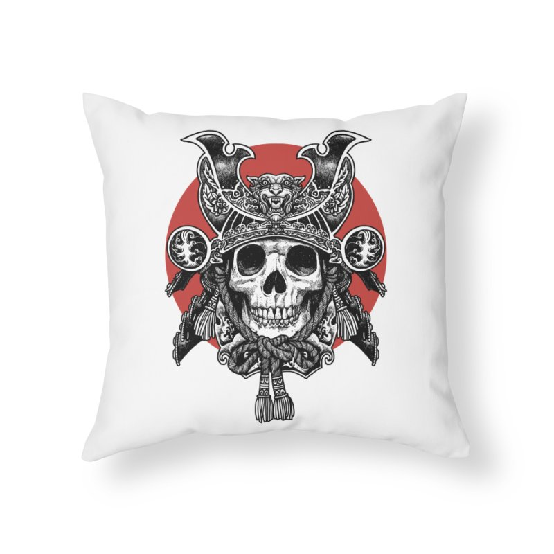 WARRIOR Home Throw Pillow by ES427's Artist Shop
