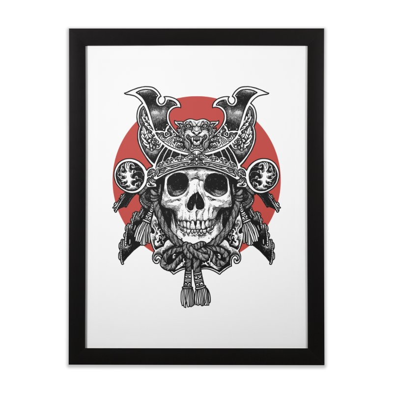 WARRIOR Home Framed Fine Art Print by ES427's Artist Shop