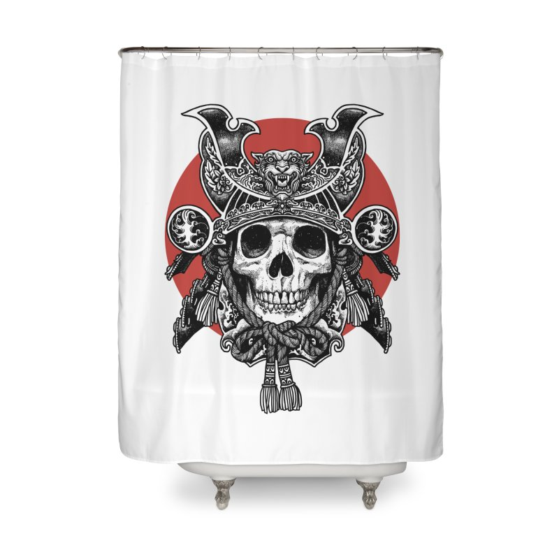 WARRIOR Home Shower Curtain by ES427's Artist Shop
