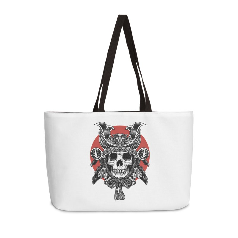 WARRIOR Accessories Weekender Bag Bag by ES427's Artist Shop