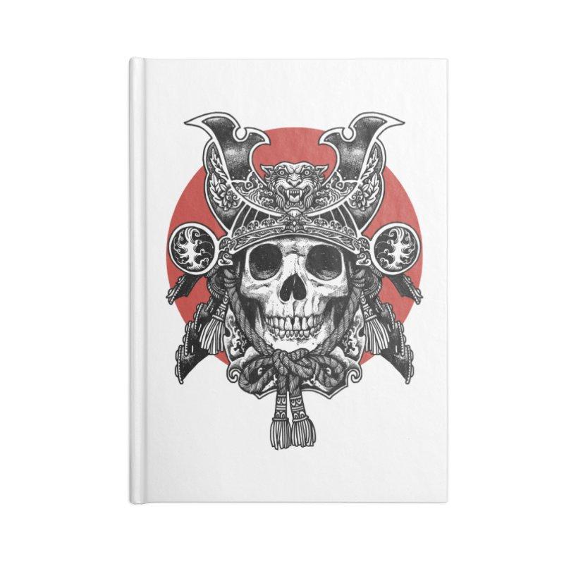 WARRIOR Accessories Lined Journal Notebook by ES427's Artist Shop