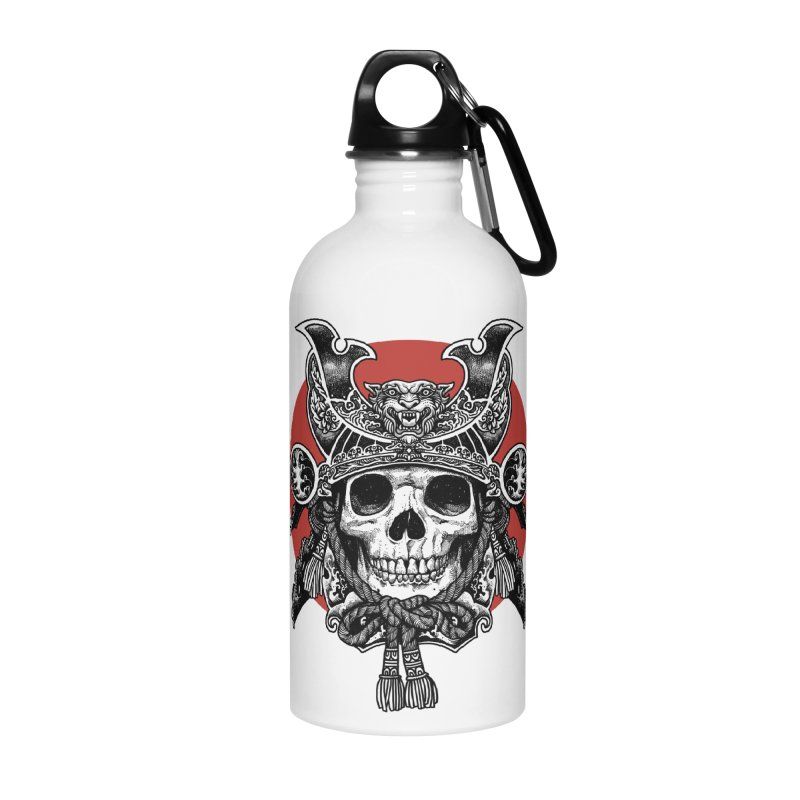 WARRIOR Accessories Water Bottle by ES427's Artist Shop
