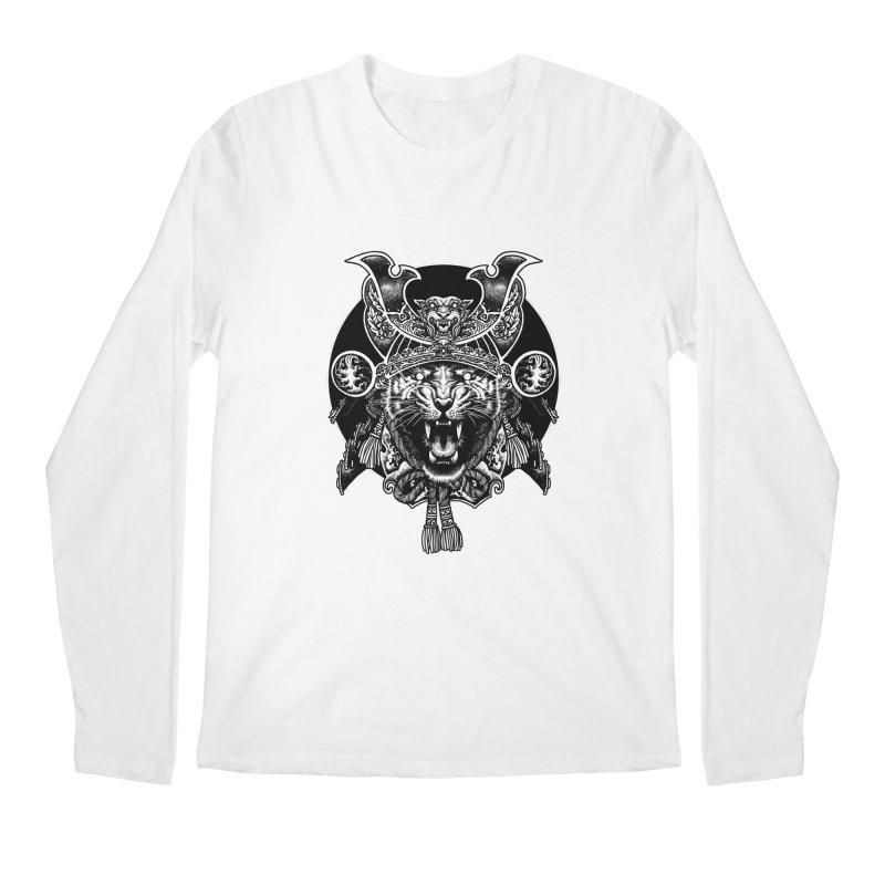 Tiger Samurai Men's Regular Longsleeve T-Shirt by ES427's Artist Shop