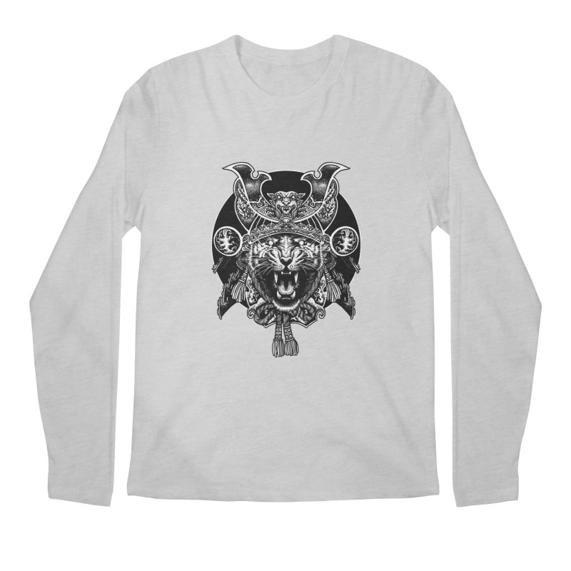 Tiger Samurai Men's Longsleeve T-Shirt by ES427's Artist Shop