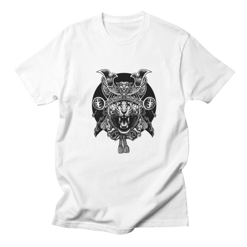Tiger Samurai Women's Regular Unisex T-Shirt by ES427's Artist Shop