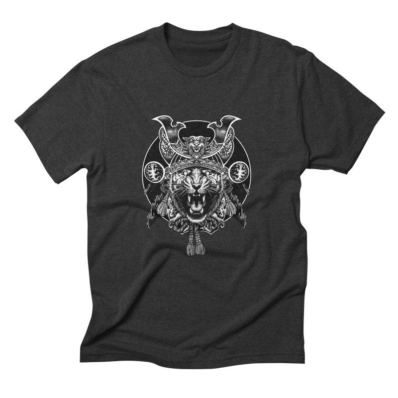 Tiger Samurai Men's Triblend T-Shirt by ES427's Artist Shop