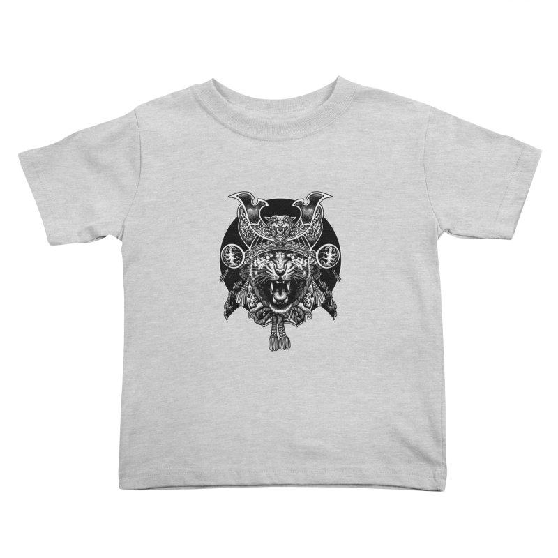 Tiger Samurai Kids Toddler T-Shirt by ES427's Artist Shop
