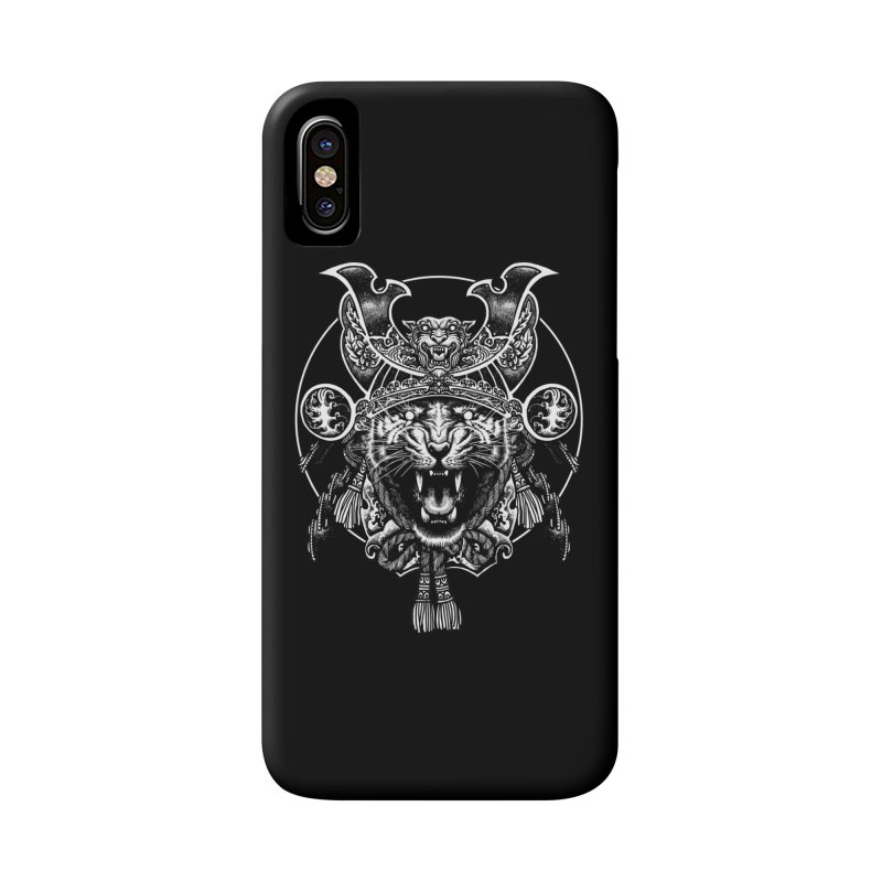 Tiger Samurai Accessories Phone Case by ES427's Artist Shop