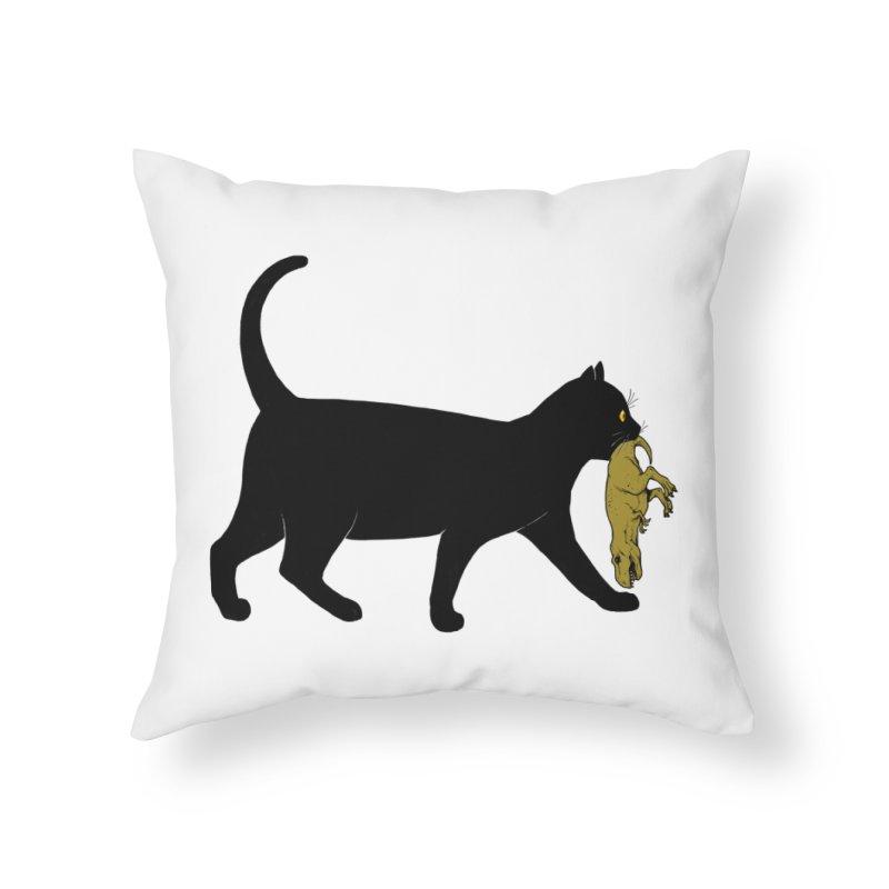 I Got Lunch Home Throw Pillow by ES427's Artist Shop