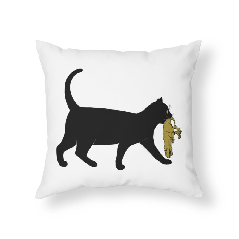 I Got Lunch Home Throw Pillow by ES427's Artist Shop