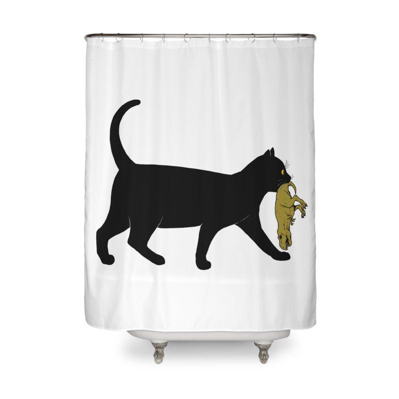 I Got Lunch Home Shower Curtain by ES427's Artist Shop
