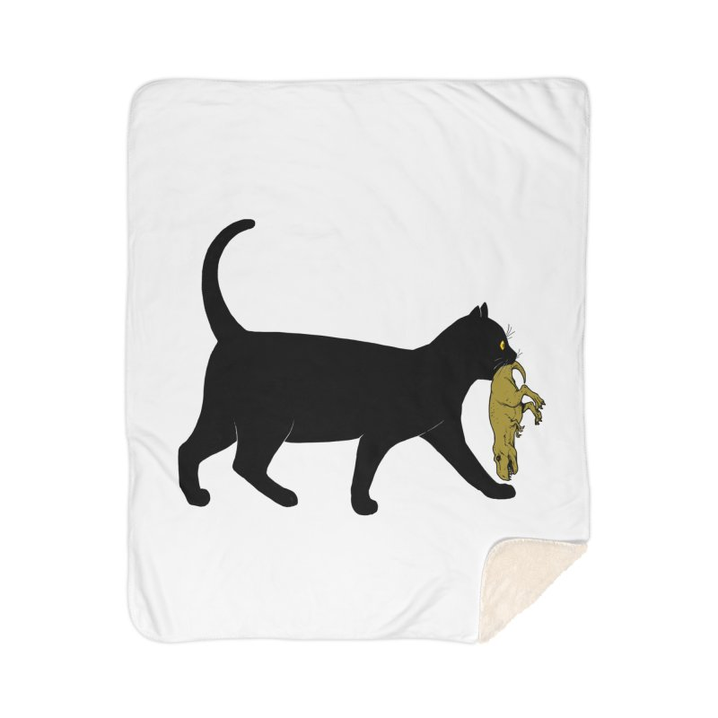 I Got Lunch Home Sherpa Blanket Blanket by ES427's Artist Shop