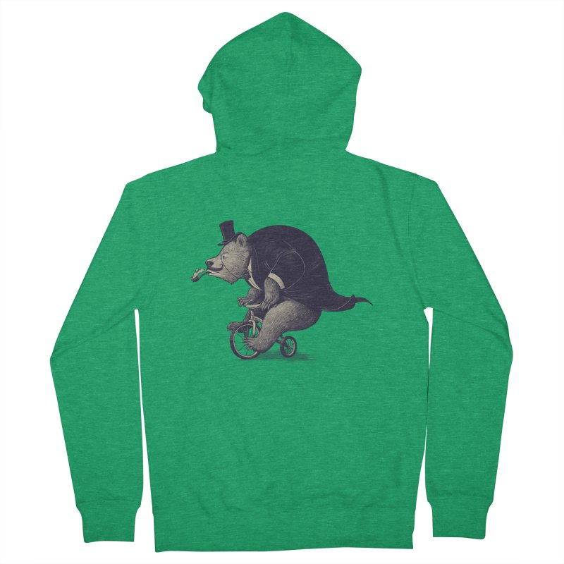 Mr.Bear Women's French Terry Zip-Up Hoody by ES427's Artist Shop
