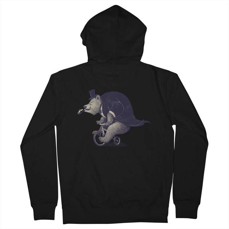Mr.Bear Men's French Terry Zip-Up Hoody by ES427's Artist Shop