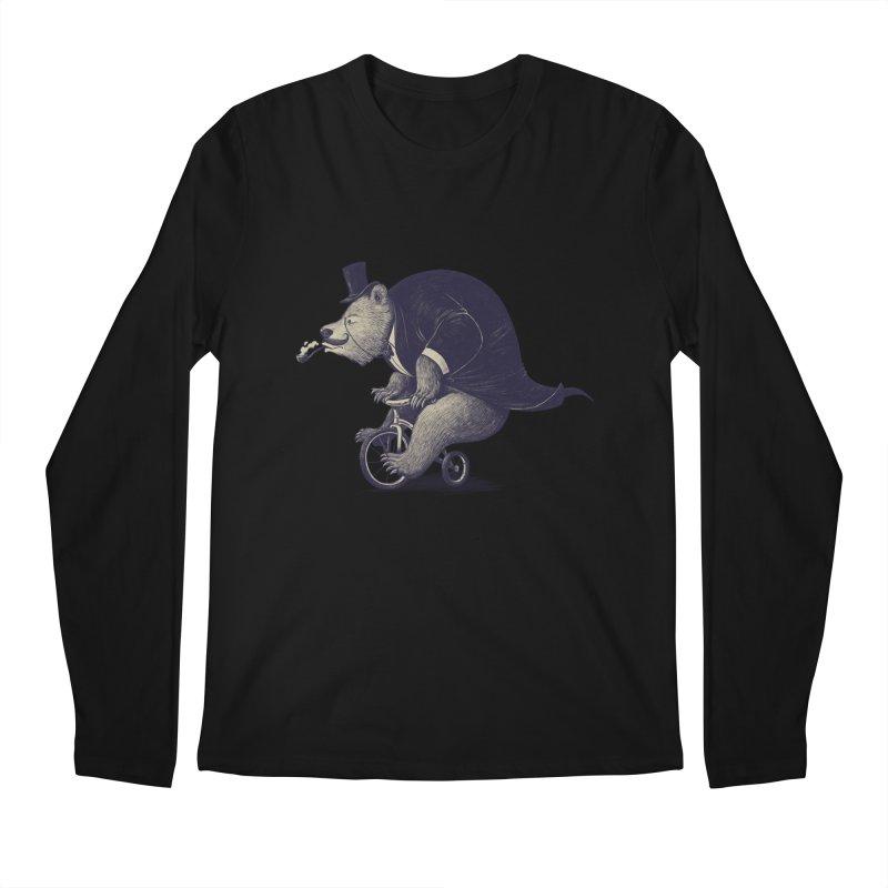 Mr.Bear Men's Regular Longsleeve T-Shirt by ES427's Artist Shop