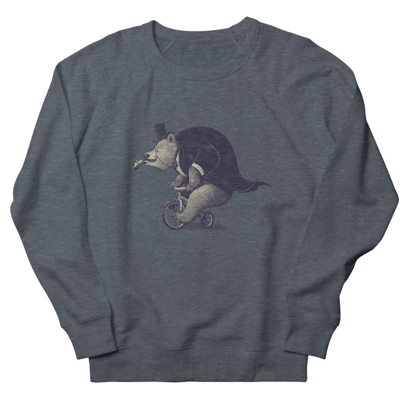 Mr.Bear Men's French Terry Sweatshirt by ES427's Artist Shop