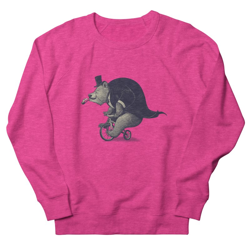Mr.Bear Men's French Terry Sweatshirt by ES427's Artist Shop