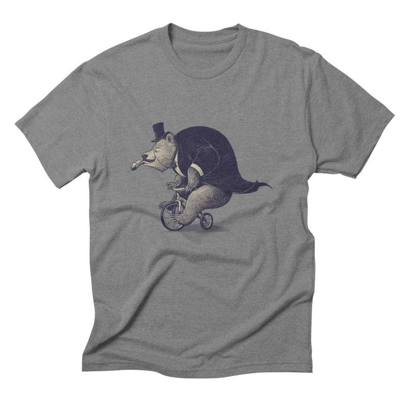Mr.Bear Men's Triblend T-Shirt by ES427's Artist Shop