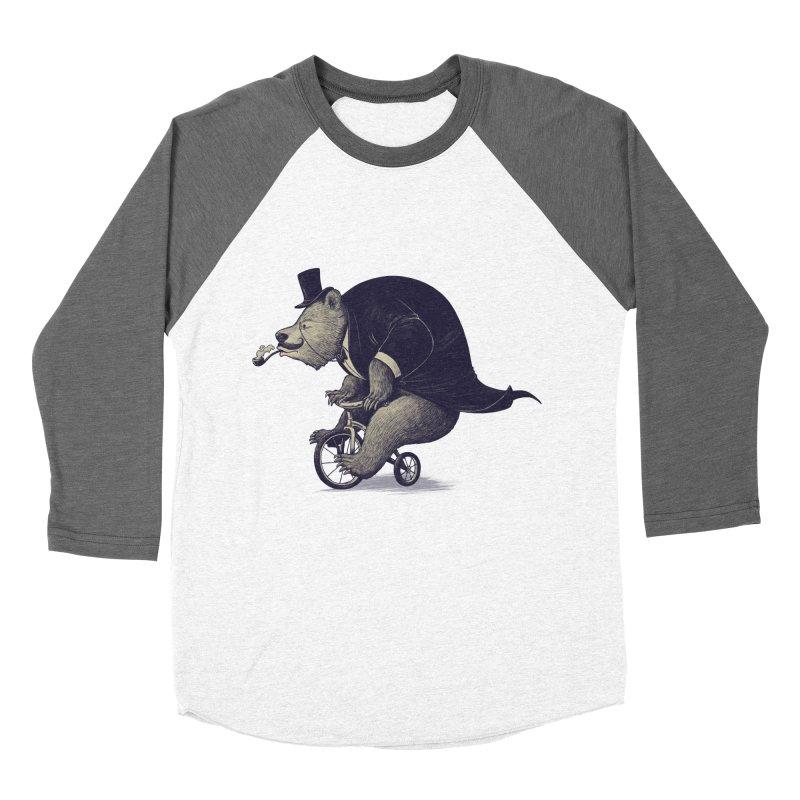 Mr.Bear Women's Baseball Triblend Longsleeve T-Shirt by ES427's Artist Shop