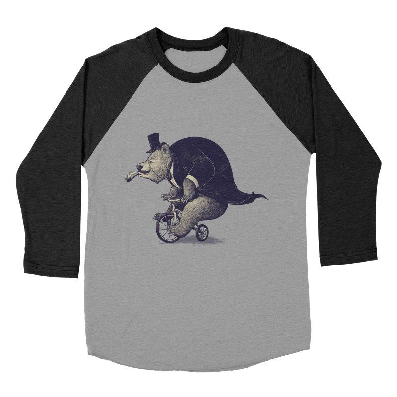 Mr.Bear Men's Baseball Triblend Longsleeve T-Shirt by ES427's Artist Shop