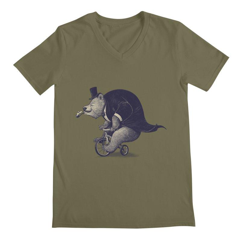 Mr.Bear Men's Regular V-Neck by ES427's Artist Shop