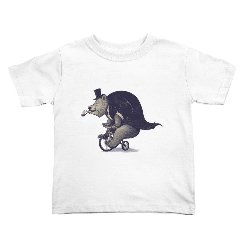 Mr.Bear Kids Toddler T-Shirt by ES427's Artist Shop